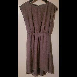 Maurices Dresses - Mauve/dusty rose sleeveless blouson sheath dress